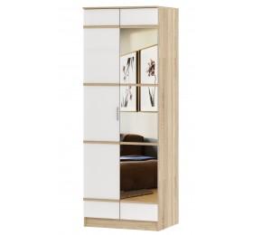 Шкаф 2-х ств с зеркалом Сакура