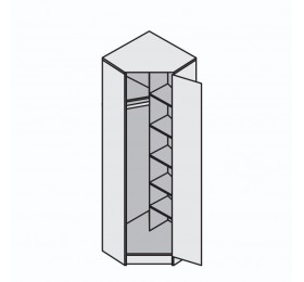 Шкаф угловой  Эрика