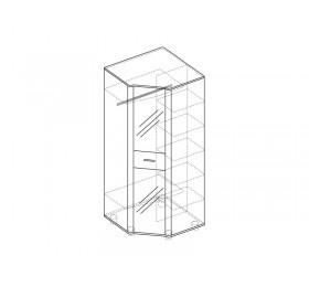 Оливия мод №16 шкаф угловой без зеркала