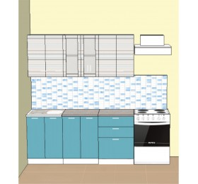 Кухня Риф 1.8