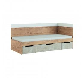 Кровать 0,9 Дублин Стоун мод. №1