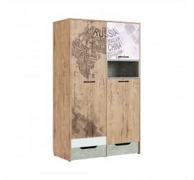 Шкаф для одежды Дублин Стоун мод. №10