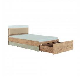 Кровать 1,2 Дублин Стоун мод. №2