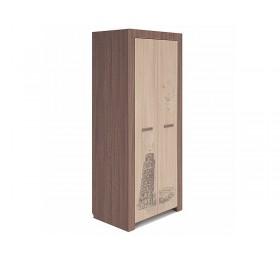 Шкаф для одежды глубокий Город мод №17