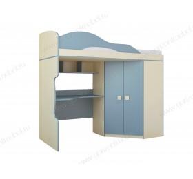 Кровать 2-этаж + шкаф