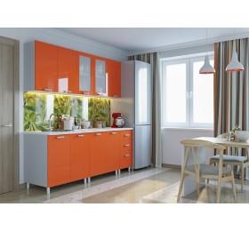 "Кухня ""Модерн"" 2,0м  Оранж"