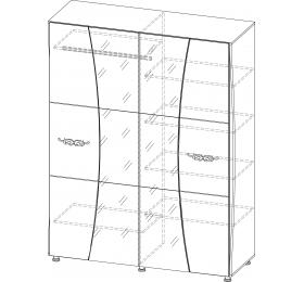 Шкаф 4х (1.8м)