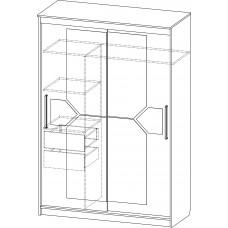 Шкаф-купе № 15 (1,5м)