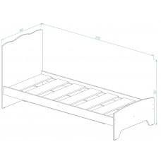 """Кровать для детской КР-31 """"Ёжики"""""""