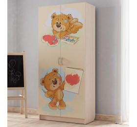 """Шкаф для детской """"Мишки"""""""